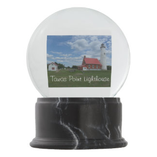 Tawas Point Lighthouse Snow Globe