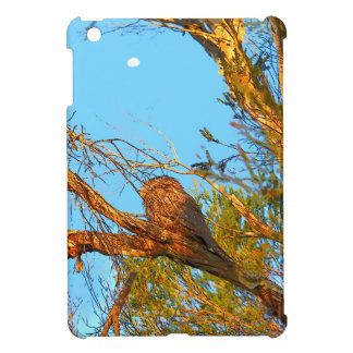 TAWNY FROGMOUTH ART QUEENSLAND AUSTRALIA COVER FOR THE iPad MINI