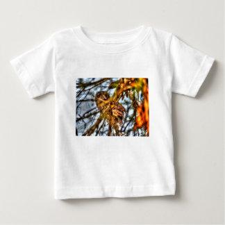 TAWNY FROGMOUTH OWL AUSTRALIA ART EFFECTS BABY T-Shirt