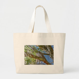 TAWNY FROGMOUTH OWL AUSTRALIA ART EFFECTS LARGE TOTE BAG
