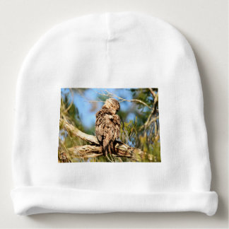 TAWNY FROGMOUTH RURAL QUEENSLAND AUSTRALIA BABY BEANIE