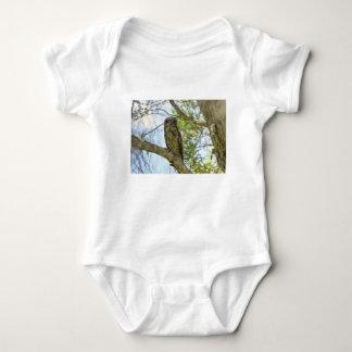 TAWNY FROGMOUTH RURAL QUEENSLAND AUSTRALIA BABY BODYSUIT