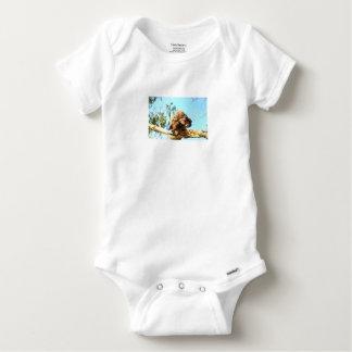 TAWNY FROGMOUTH RURAL QUEENSLAND AUSTRALIA BABY ONESIE