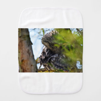 TAWNY FROGMOUTH RURAL QUEENSLAND AUSTRALIA BURP CLOTH
