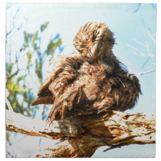 TAWNY FROGMOUTH RURAL QUEENSLAND AUSTRALIA NAPKIN