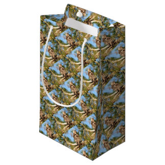 TAWNY FROGMOUTH RURAL QUEENSLAND AUSTRALIA SMALL GIFT BAG