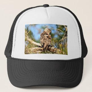 TAWNY FROGMOUTH RURAL QUEENSLAND AUSTRALIA TRUCKER HAT