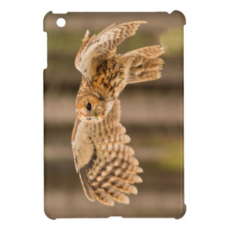 Tawny Owl in flight. iPad Mini Covers