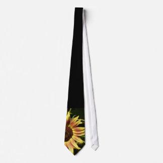 Tawny Pink Sunflower Tie