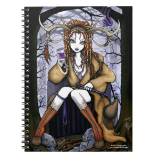 Tawny Therianthrope Nature Spirit Fae Notebook