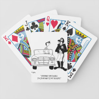 Tax Cartoon 9504 Bicycle Playing Cards