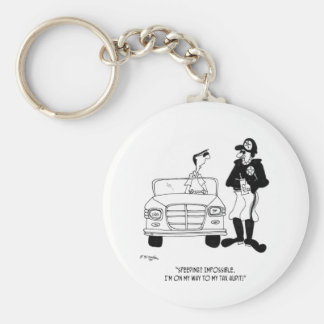 Tax Cartoon 9504 Keychain