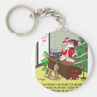 Tax Cartoon 9532 Keychain