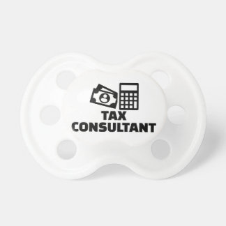 Tax consultant baby pacifiers