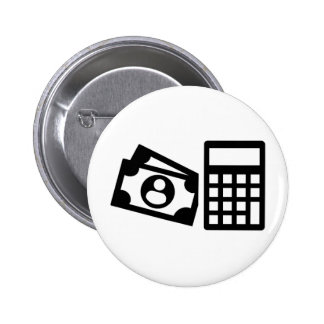 Tax consultant calculator 2 inch round button