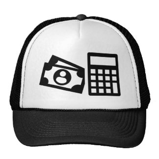 Tax consultant calculator trucker hat