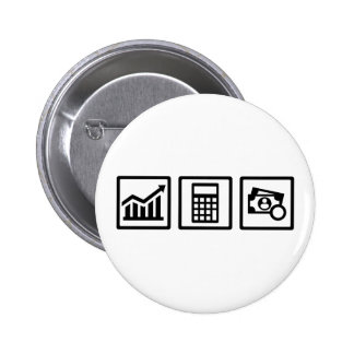 Tax consultant icons 2 inch round button