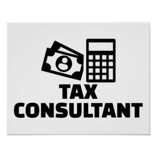 Tax consultant poster
