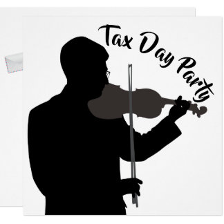 Tax Day Party Invitation