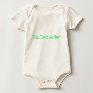 Tax Deduction. Baby Bodysuit