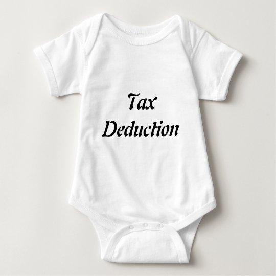 Tax Deduction Baby Bodysuit