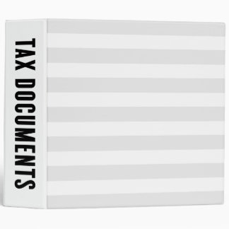 Tax Documents | Home Organization Binder