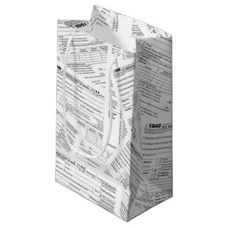Tax Forms Small Gift Bag