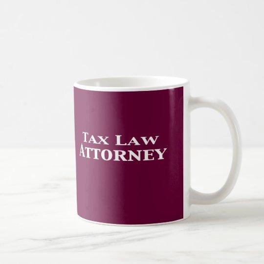 Tax Law Attorney Gifts Coffee Mug