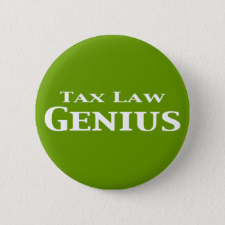 Tax Law Genius Gifts 2 Inch Round Button
