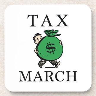 Tax March Coaster
