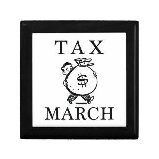 Tax March Jewelry Box