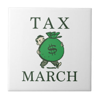 Tax March Tile