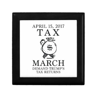 Tax March Trinket Boxes