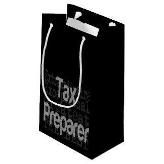Tax Preparer Extraordinaire Small Gift Bag