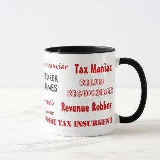Tax Preparer Nicknames Mug