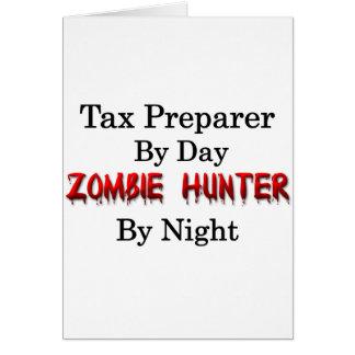 Tax Preparer/Zombie Hunter Card