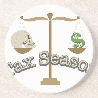 Tax Season Drink Coasters