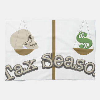 Tax Season Kitchen Towel