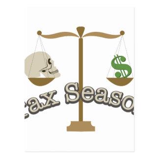 Tax Season Postcard