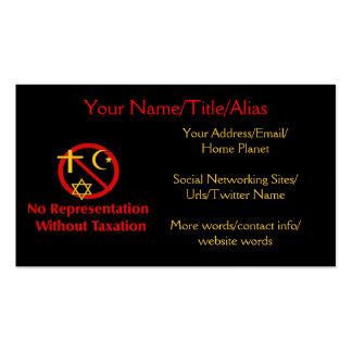 Tax The Churches Business Card