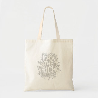 Tax the Rich Budget Tote Bag