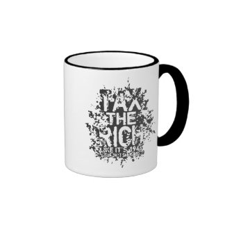 Tax the Rich Ringer Mug