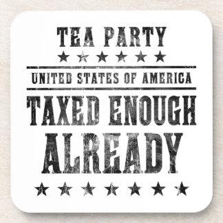 Taxed Enough Already Drink Coasters