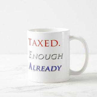Taxed Enough Already Sink Crime Inc Beck Mug