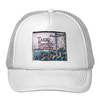 Taxed Enough Already T-shirts and Gifts Magnets Trucker Hats
