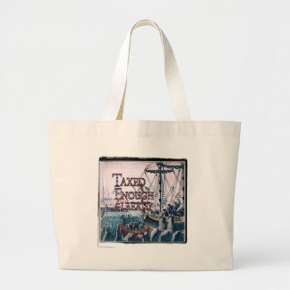 Taxed Enough Already T-shirts and Gifts, Magnets, Jumbo Tote Bag