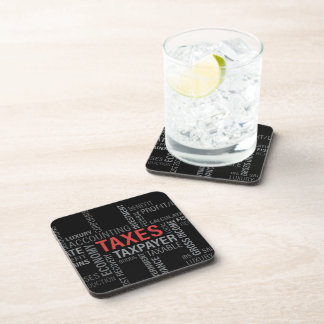 """Taxes"" Drink Coasters"