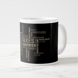 """""""Taxes"""" Jumbo Mug"""