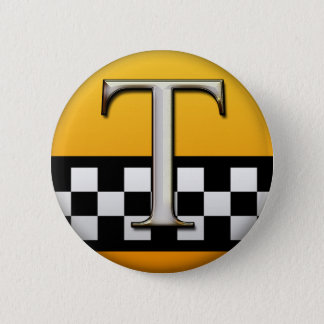 TAXI 2 INCH ROUND BUTTON