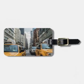 taxi bag tag